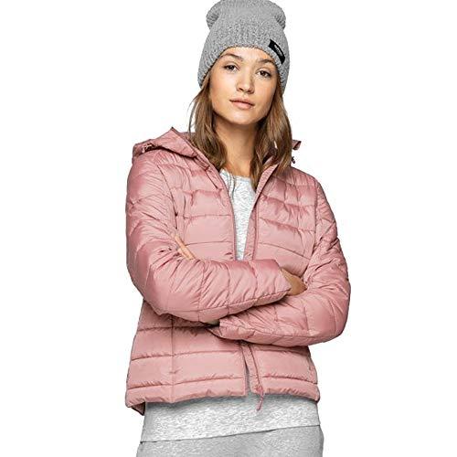 Outhorn Damen gefütterte Jacke Steppjacke Winterjacke Kunstdaune rosa (XS)