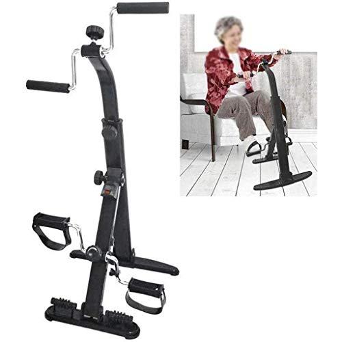Bicicletta di Esercizio Pieghevole per Braccio e Gamba, Portatile Portatile Attrezzatura per Il Fitness Attrezzature per Le Gambe per Anziani Tomaia e Lo JIAJIAFUDR