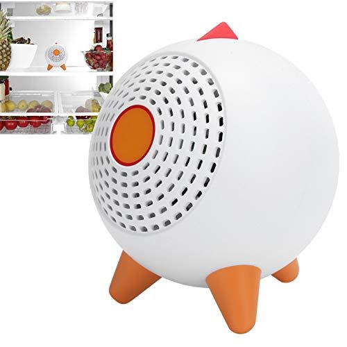 YUYTE Eliminador de olores de frigorífico y congelador, desodorizador de frigorífico eléctrico para el hogar, Limpieza rápida, eliminación de olores, purificador de Aire, desodorizador