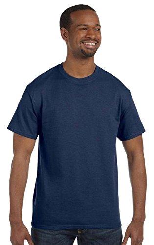 Jerzees T-shirt en mélange de poids lourd 50/50 XL Bleu marine