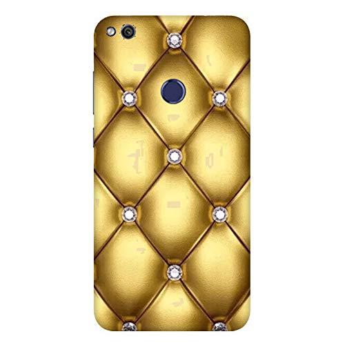 Funda 8 Youth Carcasa Honor 8 Youth Diseño de efecto colchón Oro y diamantes / Cubierta Imprimir también en los lados / Cover Antideslizante Antideslizante Antiarañazos Resistente a golpes Protect