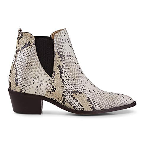 Belmondo Damen Western-Boots Python Geprägtes Leder 39