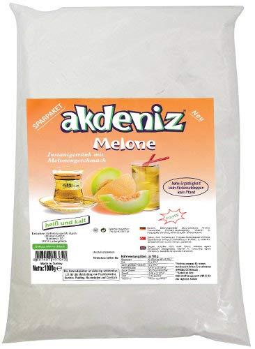 Akdeniz Türkisches Instantgetränk mit Melonen Geschmack 1KG