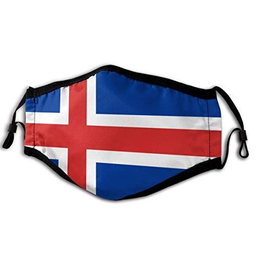 IJsland Vlag Mode Oor Haak Ventilatie Stofhoes Ademhaling Volledige Cover Stof En Pollen Proof