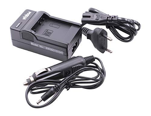 vhbw Cargador batería Compatible con Panasonic Lumix DMC-TZ9, DMC-ZS10, DMC-ZS15, DMC-ZS20 baterías cámaras, videocámaras, DSLR -Soporte Carga