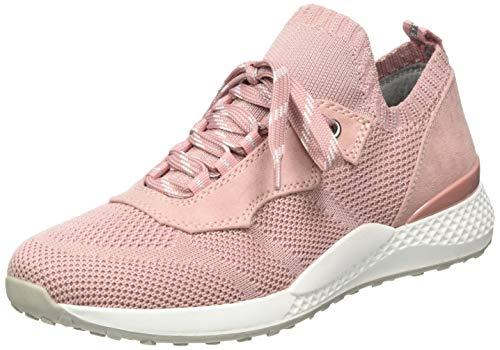 MARCO TOZZI 2-2-23722-24, Scarpe da Ginnastica Donna, Pink Rose Comb 596, 37 EU