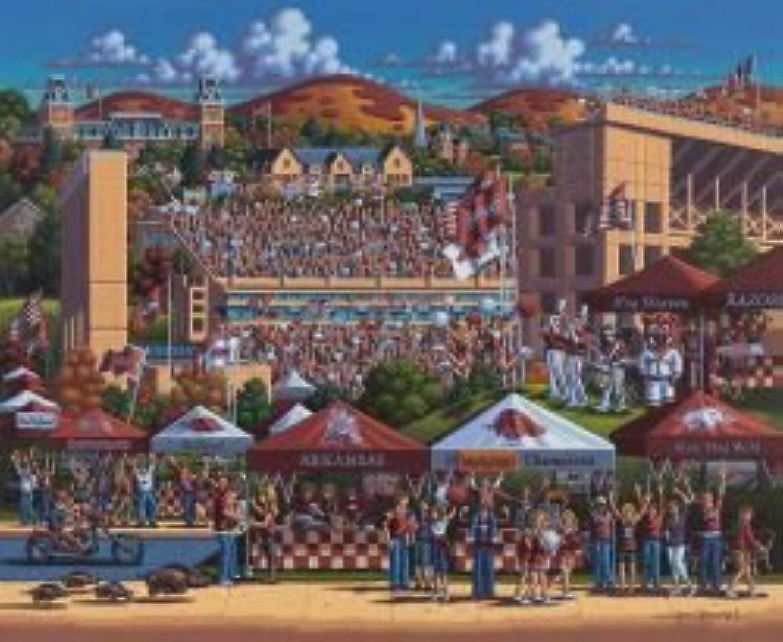 Arkansas Football 500 Piece Puzzle