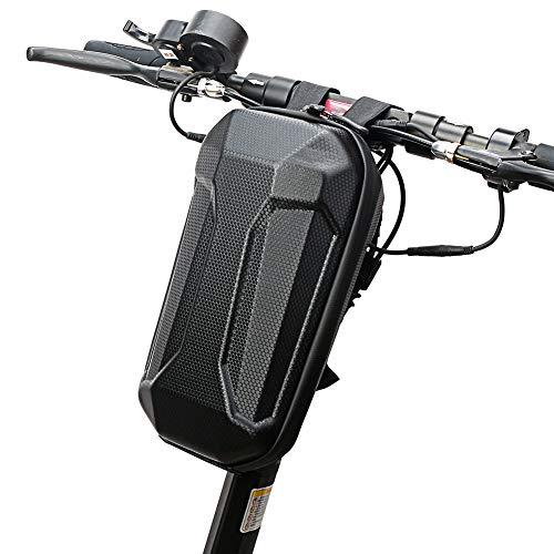 Domybest - Bolsa de transporte para patinete eléctrico (4 L, EVA), impermeable, para patinete eléctrico, bolsa de almacenamiento de gran capacidad para patinete eléctrico, bicicleta plegable