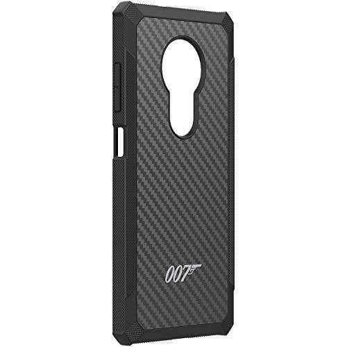 Nokia Schutzhülle Kevlar Case 007 Special Edition passend für Nokia 5.3, Dunkelgrau