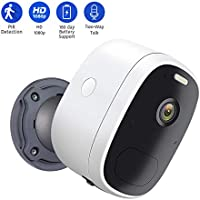 Aihows Battery Powered 1080p Wireless Security Camera