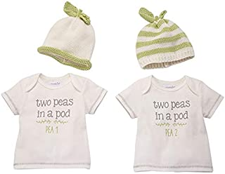 Mud Pie Twins Baby Gifts (Peas in A Pod Gift Set)
