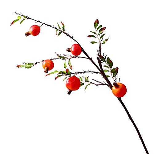 PRIDE S Gefälschte Blumengarten Wohnzimmer Simulation Granatapfel Künstliche Blumen Künstliche Blumen