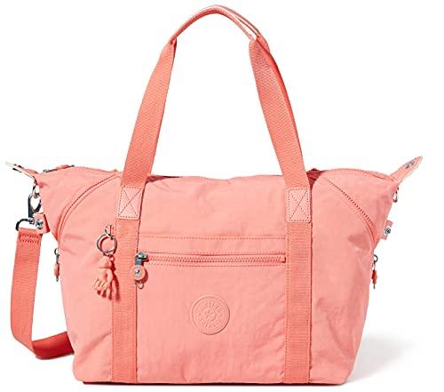 Kipling Damen Art Stofftasche, Koralle, One Size