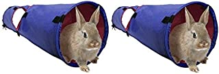 Living World 2 Pack of Small Animal Tunnels, Large, for Guinea Pigs and Rabbits