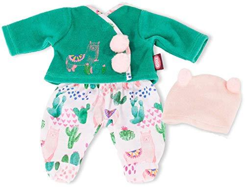 Götz 3403161 Babykombi Alpaka Love - Puppenbekleidung Gr. S - 3-teiliges Bekleidungs- und Zubehörset für Babypuppen von 30 - 33 cm