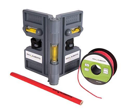 GAH-Alberts 212087 Montagehilfe für Pfostenträger, Bodenhülsen und Metallpfosten | Kunststoff, grau