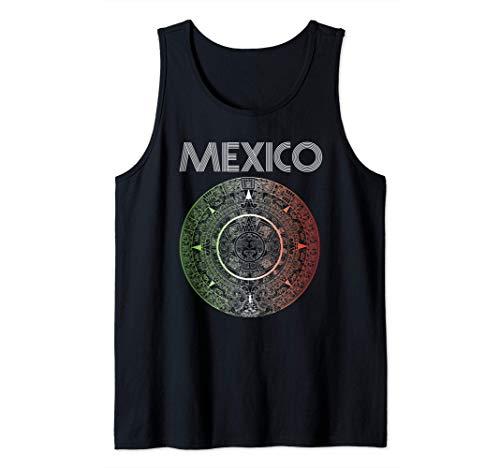 Equipo México Fútbol Balón Azteca Mexicano Latino America Camiseta sin Mangas