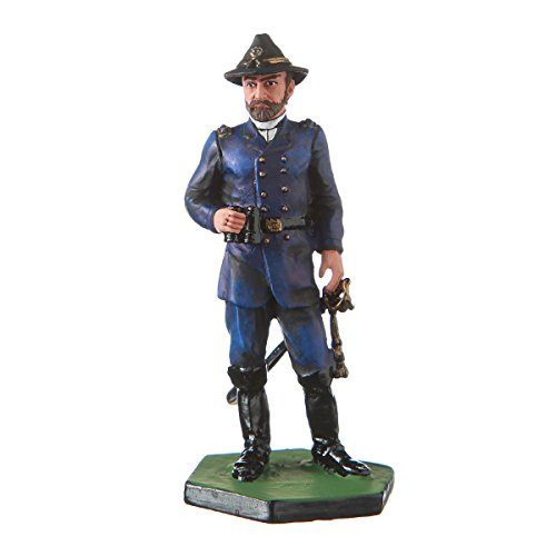 Tin Soldier USA Civil war Northerners General George Meade Hand Painted Metal Sculpture Miniature Figurine 54mm #5.58