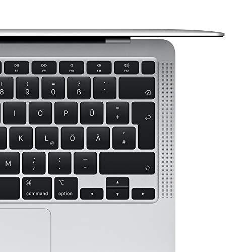 2020 Apple MacBook Air (13, 1,1GHz dual-core Intel Corei3 Prozessor der 10.Generation, 8GB RAM, 256 GB) - Silber