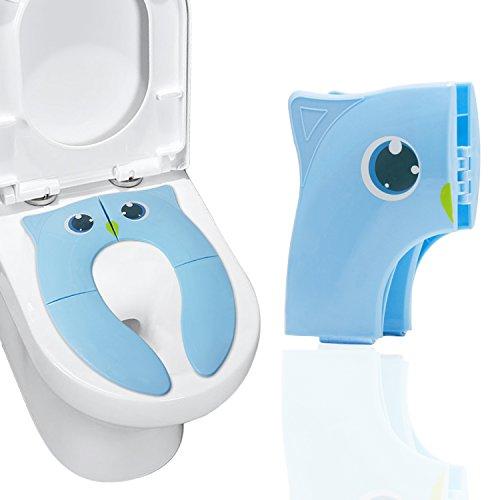 子供便座 折りたたみ 幼児用補助便座 滑り止め 携帯トイレ 旅行 ベビー便座カバー