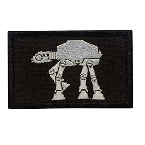 Cobra Tactical Solutions Star Wars Walker Ecusson Brodé Patch Tactique Moral Militaire Applique Emblème Insignes Fastener à Crochet et Boucle Airsoft Paintball Cosplay