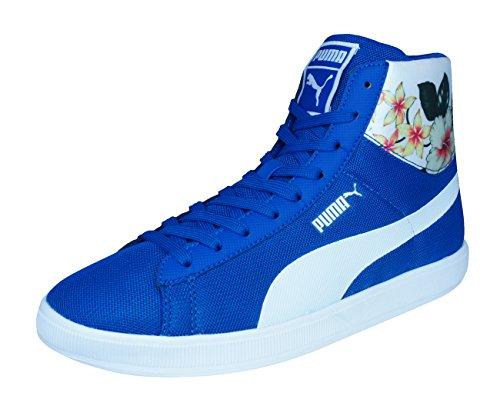 Puma Archive Lite Mid Mesh RT para Hombre de Las Zapatillas de deporte/zapatos-Blue-37