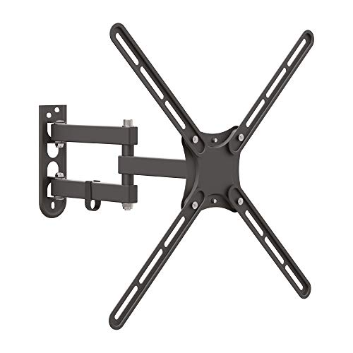 Barkan - Soporte de pared para TV (13 - 65 pulgadas, 4 movimientos, soporta hasta 36 kg, compatible con LED OLED y LCD)