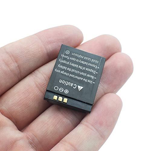 ndegdgswg Batería de 3.7V 380MAH, para LQ-S1 AB-S1 LQ-A1 JHCY-S1 LQ-A1 Reemplazo de la batería del Reloj Inteligente Teléfono Inteligente GPS + número de Seguimiento 1pcs