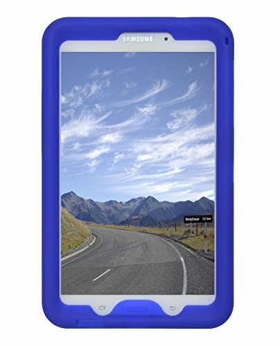 BobjGear Rugged Case for Samsung Galaxy Tab 4 8-inch Tablet Models SM-T330 SM-T331 4G SM-T335 SM-T337 SM-T337A and Other Models SM-T33.. (Not for Tab A 8) Protective Cover (Batfish Blue)