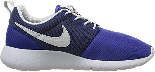 Nike Jungen Roshe One Gs 599728-410 Low-Top, Mehrfarbig (Deep Royal Blue/Wolf Grey-Midnight Navy), 39 EU