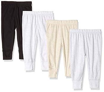 Gerber Baby Boys  4-Pack Pants fox 3-6 Months
