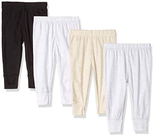 Gerber Baby Boys' 4-Pack Pants, fox, 3-6 Months