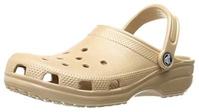 Crocs Classic Clog Comfortable Slip On Casual Water Shoe, Smoke, 6 M US Men/8 M US Women