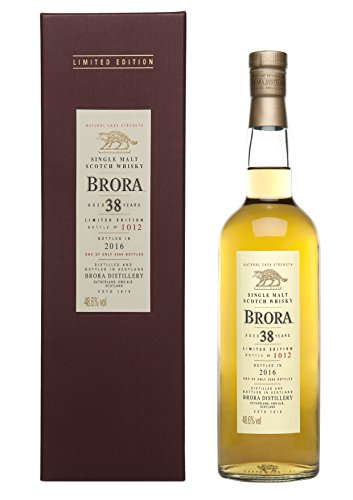 Brora 38 Jahre Special Release 2016 Highland Single Malt Scotch Whisky (1 x 0.7 l)