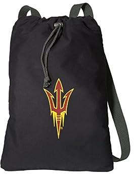 Arizona State Drawstring Backpack RICH CANVAS ASU Cinch Bag