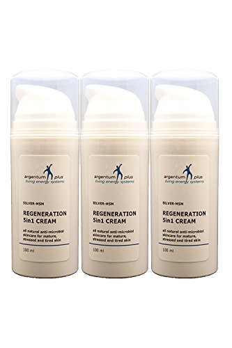 Argento-MSM crema rigenerante 5in1-3 x 100 ml