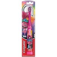 Colgate Kids Battery Powered Toothbrush (Trolls - Extra Soft Bristles)