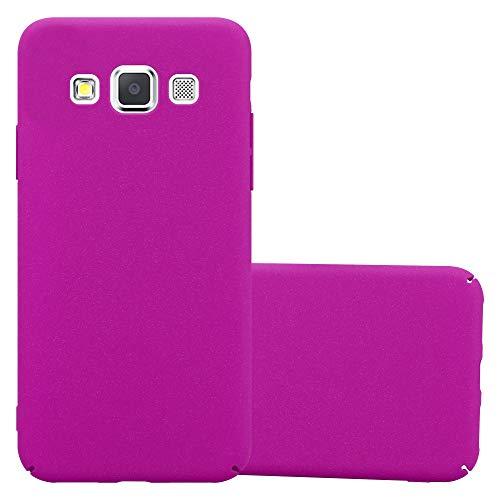 Cadorabo Custodia per Samsung Galaxy A3 2015 in Frosty Rosa - Rigida Cover Protettiva Sottile con Bordo Protezione - Back Hard Case Ultra Slim Bumper Antiurto Guscio Plastica