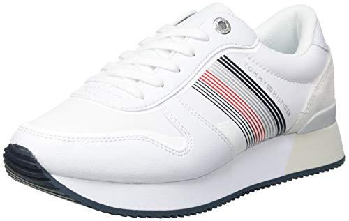 Tommy Hilfiger Damen Annie 2C3 Sneaker, White, 38 EU