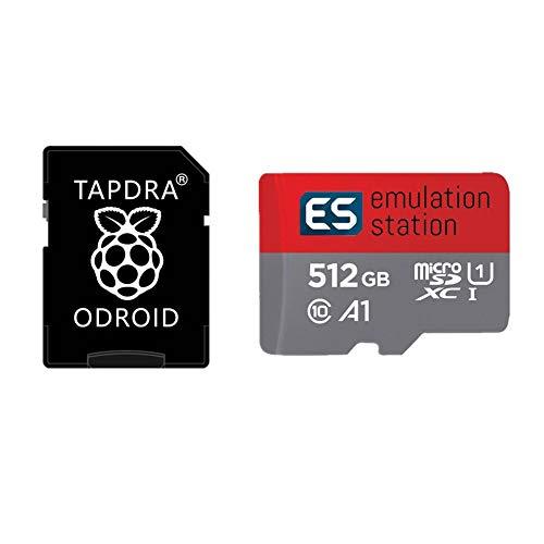 TAPDRA 512 GB Ora v1.65 Retropie SD Card - for ODROID XU4 20,000+ Preloaded Games