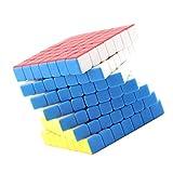 dailymall Colorful Cube Puzzle Twist Game Niños Juguetes de Inteligencia 7x7x7
