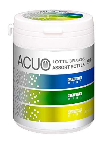 ロッテ ACUO 3種 アソート ファミリーボトル 140g×6個