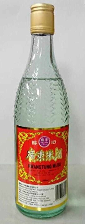 誤ヒゲ悪因子横浜中華街 広東米酒(カントンミーチュウ)、29度、560ml、広東料理に欠かせないお酒?