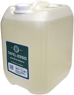 Höhne - Vinagrera de mesa, 10 % ácido, 1 unidad (10 L