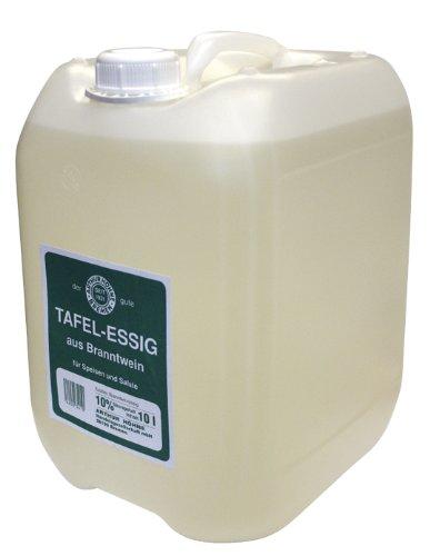 Höhne - Vinagrera de mesa, 10 {af025d6832c17230148970047ebd969d4d0c99f16d9d102e7d432bc3c1bdb7f1} ácido, 1 unidad (10 L)