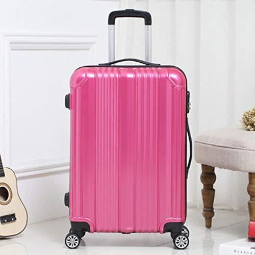 NTR WomanTravel Suitcase with wheels Rolling Carry On Luggage Man 20/24inch Box laptop,B,24'