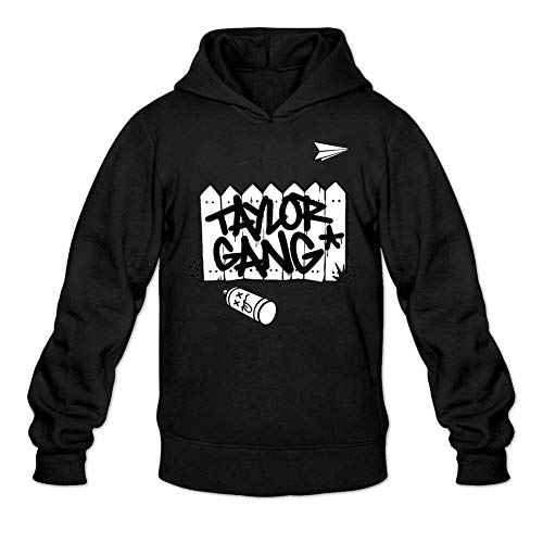 jlhujutm Men's Taylor Gang Long Sleeve Sweatshirts Hoodie