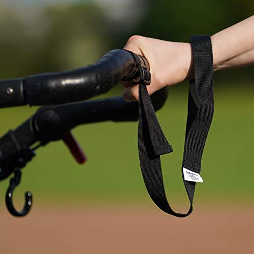 Cinturino di sicurezza da polso per passeggino (con barra di spinta). Regolabile in lunghezza