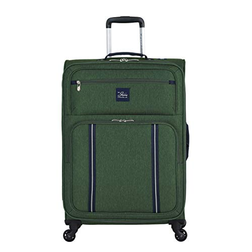 Skyway Kennewick 25' Spinner Upright Suitcase, Cypress Green, One Size