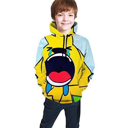 Tengyuntong Sudaderas con Capucha Mikecra-CK Able 3D Digital Printing, Teen Hooded Sweater Youth Hoody Comfortable Sweatshirt for Boys/GirlsTeen Hooded Sweater